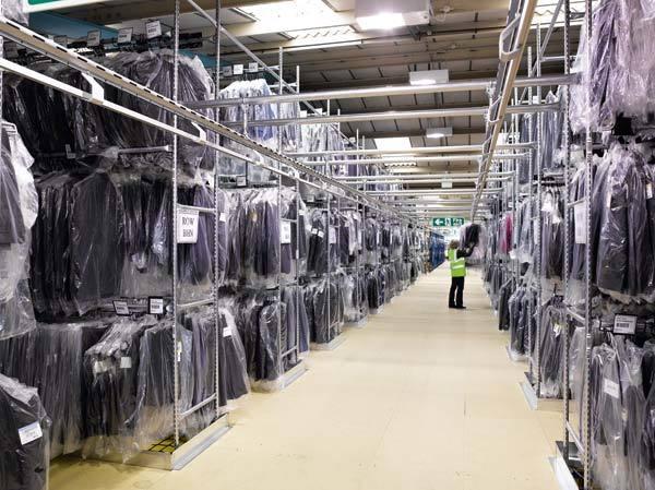 07702a52df3a Технологии складирования и автоматизация складов одежды