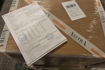 AsstrA-Associated Traffic AG осуществила негабаритную авиаперевозку за 24 часа