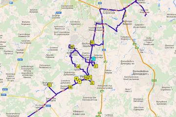 Программа для логистики АНТОР: построение маршрутов с несколькими складами