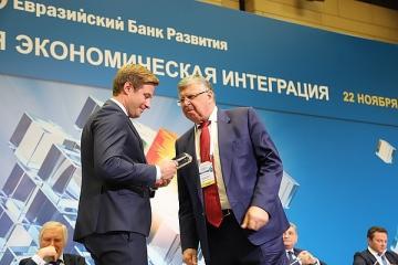 «ТрансФин-М» удостоилась премии в номинации «Лучший интеграционный проект» Евразийского банка развития