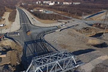 АО «Восточный Порт» реконструировало участок дороги федерального значения