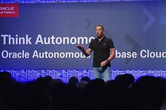 Ларри Эллисон объявил о выпуске автономного сервиса Oracle Autonomous Transaction Processing