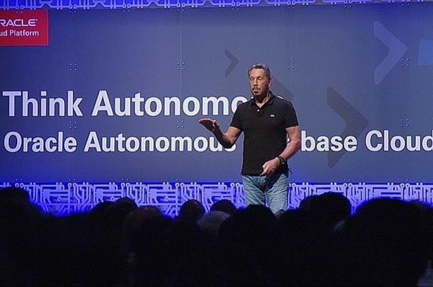 Ларри Эллисон объявил о выпуске автономного сервиса Oracle Autonomous Transaction Processing