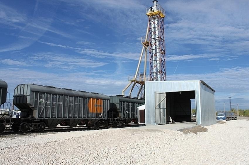 Новый мини-элеватор на станции Пугачевск позволит отгружать до 10 тыс. тонн зерна в месяц железнодорожным транспортом