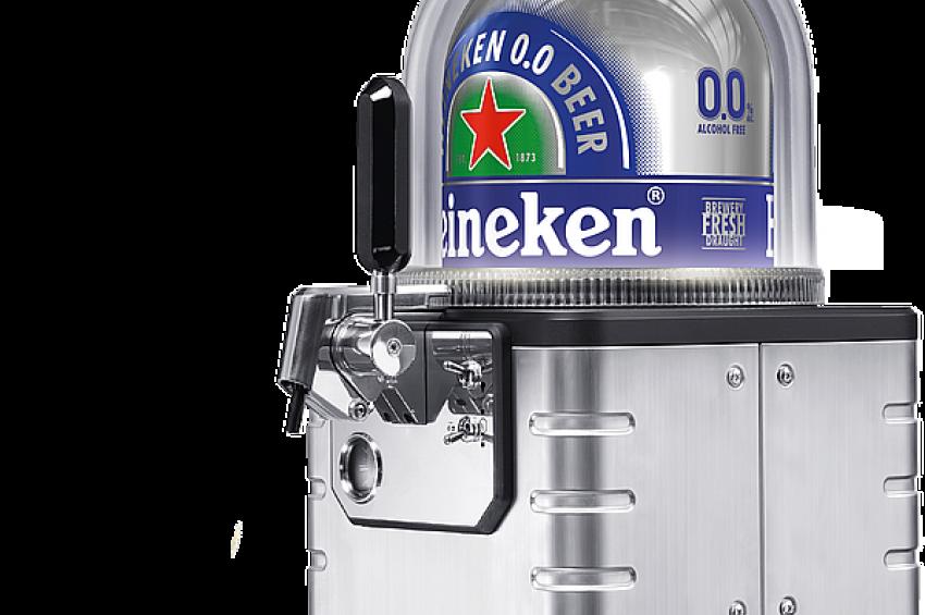 Пивоваренная компания HEINEKEN начинает продажи на российском рынке портативной системы налива пива Blade. Эта система позволит занять новые ниши на рынке разливного пива