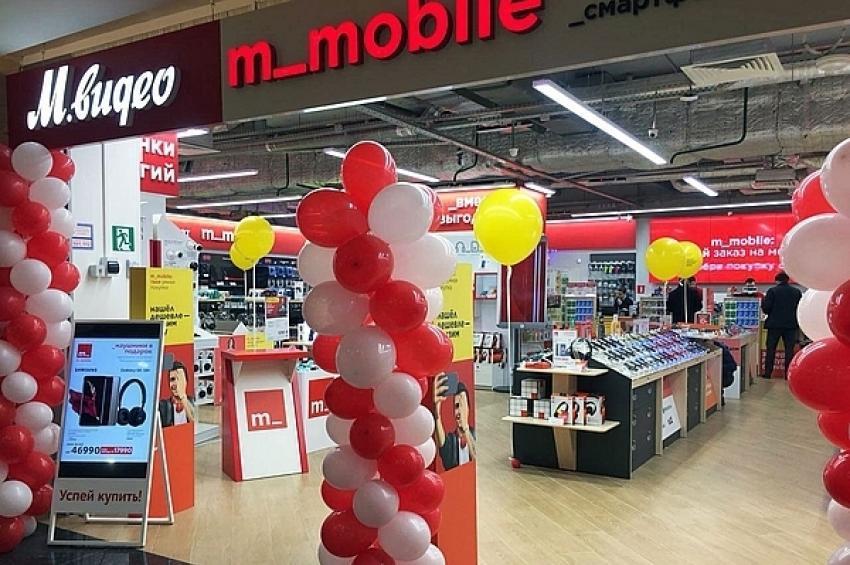 «М.Видео» откроет магазины m_mobile в новых районных центрах ADG group