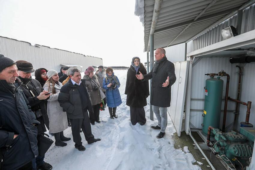 Пресс-тур в ЗАО «Племенной завод Приневское». Итоги